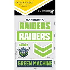 Canberra Raiders WM Decal Stickers