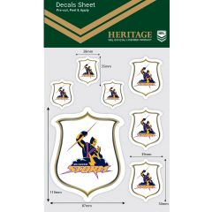 Melbourne Storm Heritage Decal Sheet