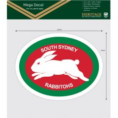 South Sydney Rabbitohs Heritage Mega Sticker