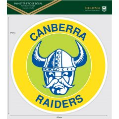 Canberra Raiders Heritage Monster Sticker