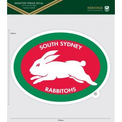 South Sydney Rabbitohs Heritage Monster Sticker