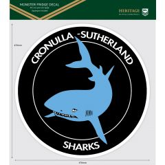 Cronulla Sharks Heritage Monster Sticker