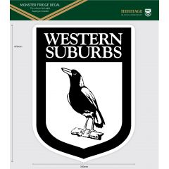 Western Suburb Magpies Heritage Monster Sticker