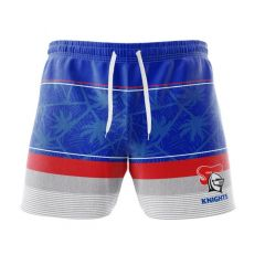Newcastle Knights Board Shorts & Hat Pack