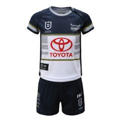 2020 North QLD Cowboys TODDLER Jersey Set