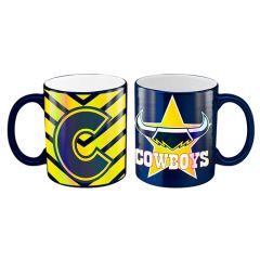 North QLD Cowboys Metallic Mug