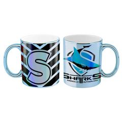 Cronulla Sharks Metallic Mug