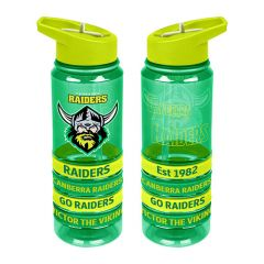Canberra Raiders Tritan Bottle w Bands