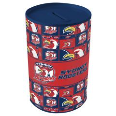 Sydney Roosters Tin Money Box
