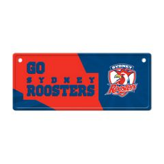 Sydney Roosters Licence Plate Sign