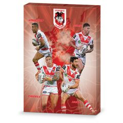 St George Dragons 4-Player Canvas