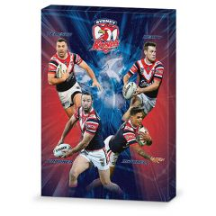 Sydney Roosters 4-Player Canvas