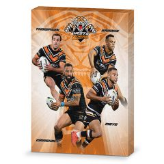 Wests Tigers 4-Player Canvas