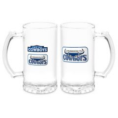 North QLD Cowboys Heritage Stein Glass