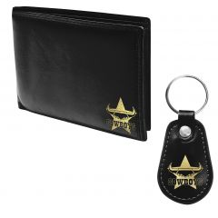 North QLD Cowboys Pleather Wallet and Keyring Pack