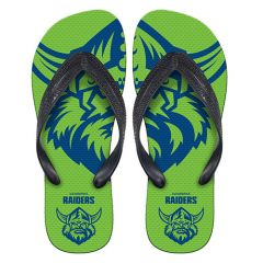 Canberra Raiders Thongs