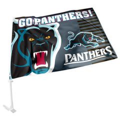 Penrith Panthers Car Flag