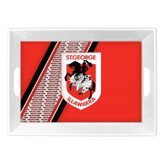 St George Dragons Melamine Tray