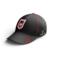 2020 St George Dragons Black Media Cap