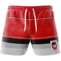 St George Dragons Board Short & Hat Pack