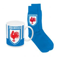 Sydney Roosters Heritage Mug And Sock Pack