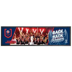 2019 Sydney Roosters Premiership Team Photo Bar Runner