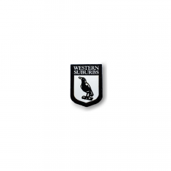 Western Suburbs Magpies Heritage Pin