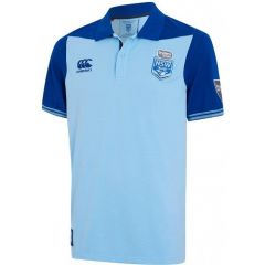 2020 NSW Blues ADULTS Overlay Polo Shirt