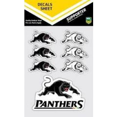 Penrith Panthers Decal Sticker Sheet