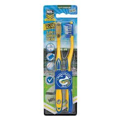 Parramatta Eels Toothbrush (Pack Of Two)