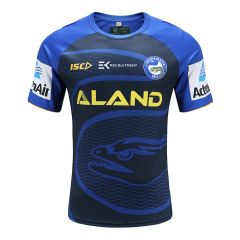 2020 Parramatta Eels ADULTS Navy Training Tee