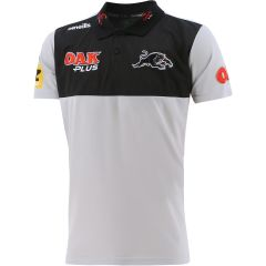 2021 Penrith Panthers ADULTS Grey Media Polo