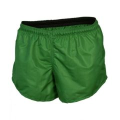 Classic Plain Polyester Shorts ADULTS Emerald