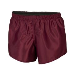 Classic Plain Polyester Shorts KIDS Maroon