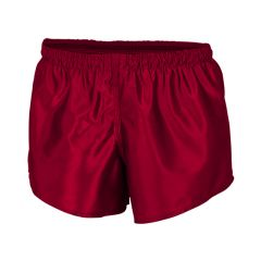 Classic Plain Polyester Shorts KIDS Red