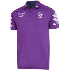 2019 Melbourne Storm ADULTS Purple Performance Polo