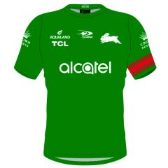 2021 South Sydney Rabbitohs ADULTS Training Jersey Green