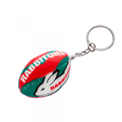 South Sydney Rabbitohs Squishy Football Keyring