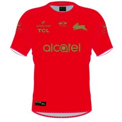 2021 South Sydney Rabbitohs ADULTS Training Jersey Red