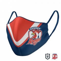 Sydney Roosters Double Sided Face Mask