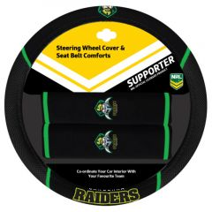 Canberra Raiders Steering Wheel Cover Set