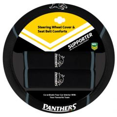 Penrith Panthers Steering Wheel Cover Set