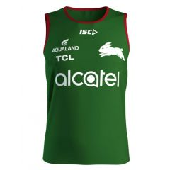 2020 South Sydney Rabbitohs ADULTS Green Training Singlet