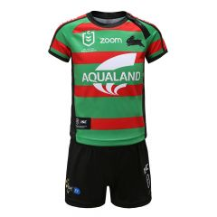 2020 South Sydney Rabbitohs TODDLER Home Jersey Set