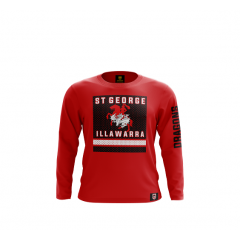 2019 St George Dragons ADULTS Long Sleeve Top