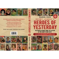 Rugby League's Heroes of Yesterday Book