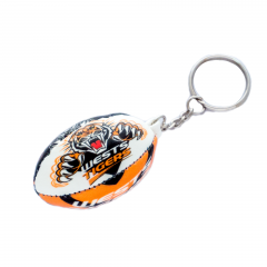 Wests Tigers Squishy Football Keyring