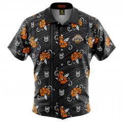 Wests Tigers Tribal Button Up Shirt