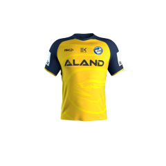 2020 Parramatta Eels ADULTS Yellow Training Tee