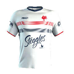 2020 Sydney Roosters ADULTS White Training Tee